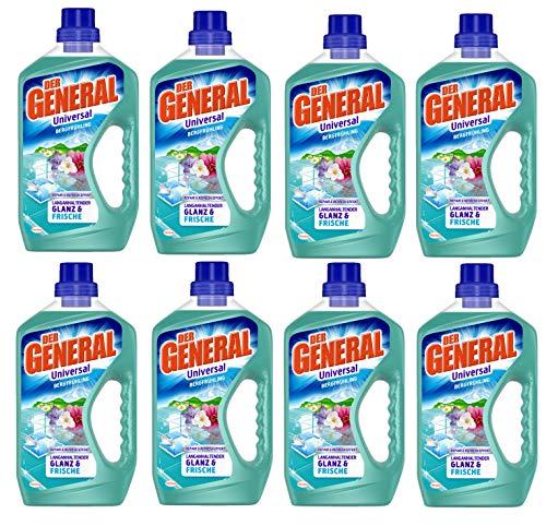 Der General Allzweckreiniger Bergfrühling, 8er Pack (8 x 750 ml) Reiniger