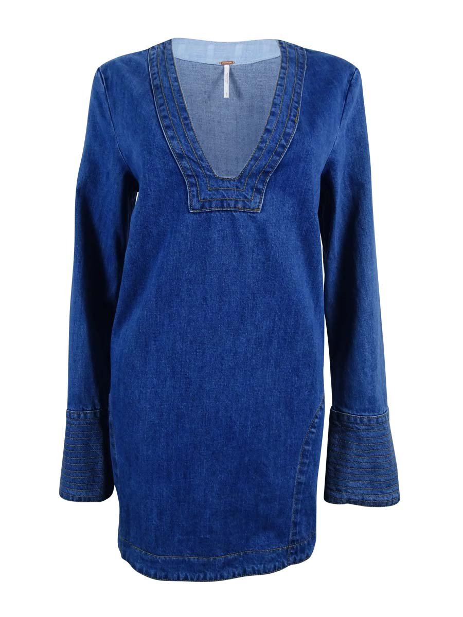 Available at Amazon: Free People Women's Dreaming of Denim Tunic