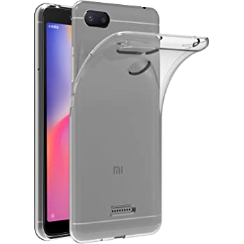 ivoler Funda Carcasa Gel Transparente para Xiaomi Redmi 6A, Ultra ...
