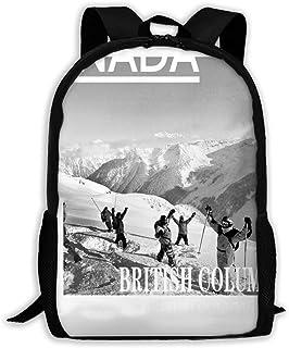 Lawenp Ski British Ski Canada Ski BC Hip Hop Adulto Unisex Mochila Whistler Resort, Whistler Ski