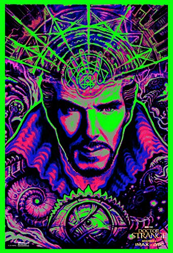 Doctor Strange Blacklight Posters Will Expand Your Mind Frameless Gift 12 x 18 inch(30cm x 46cm)-LT-141