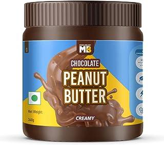 MuscleBlaze Chocolate Peanut Butter, Creamy, 340g, No Oil Separation