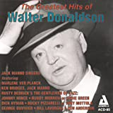"""album cover: """"The Greatest Hits of Walter Donaldson"""""""
