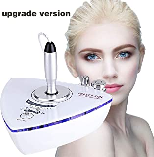Radio Frequency Facial Machine, Beauty Star Home Use Portable Facial Machine for Skin Rejuvenation Wrinkle Removal Skin Tightening