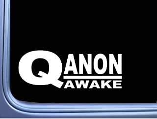 EZ-STIK Qanon Awake M389 8 inch Sticker Decal Q Anon Patriot