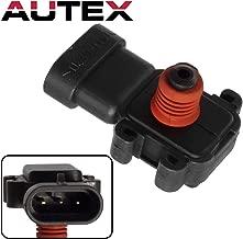 AUTEX 1pc AS59 MAP Sensor Manifold Absolute Pressure Sensor Compatible with Allure,LaCrosse/Cadillac DTS,DeVille,Eldorado/Chevrolet/GMC/Hummer/Isuzu/Oldsmobile/Pontiac/Saab 9-7x
