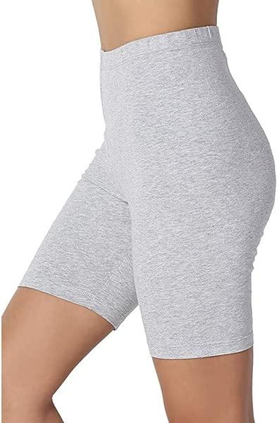 Cinhent Women Slimmer Slip Shorts For Pants Leggings Plus Size Workout Shorts