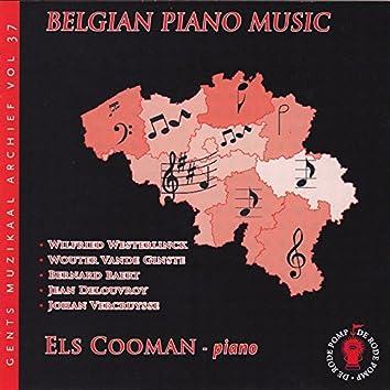 Musique belge pour piano