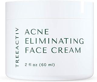 Sponsored Ad - TreeActiv Acne Eliminating Face Cream, Pimple Cream, Cystic Acne Removal, Hormonal Acne Treatment, Tea Tree...