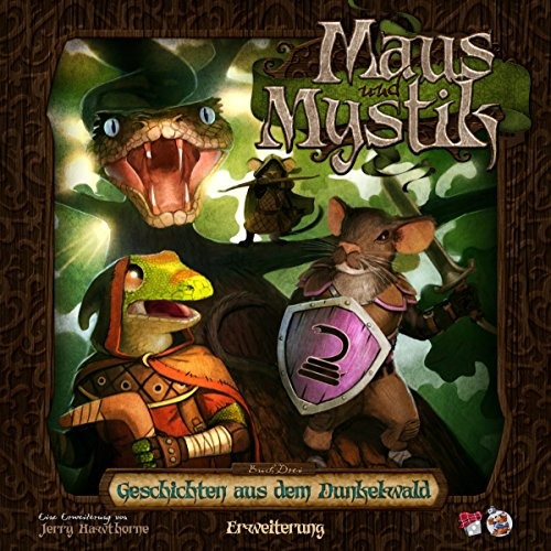 Plaid Hat Games PHGD0008 Maus und Mystik-Geschichten aus dem Dunkelwald Erweiterung Deutsch