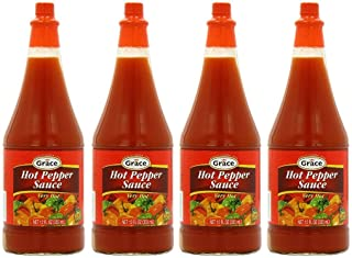 GRACE HOT PEPPER SAUCE 12 OZ (4BTL)
