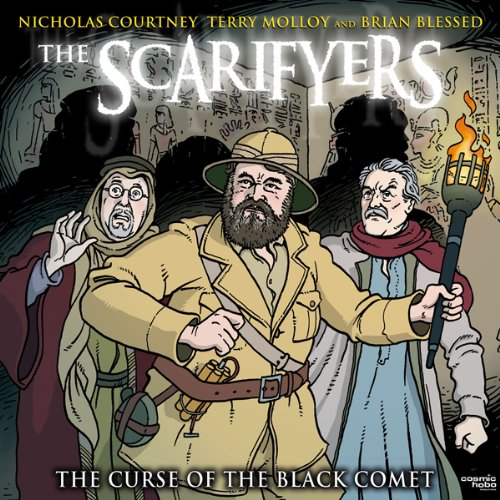 『The Scarifyers: The Curse of the Black Comet』のカバーアート