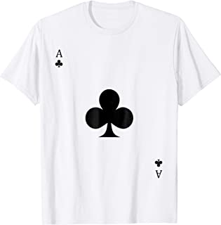 Ace of Clubs Costume T-Shirt Halloween Deck of Cards