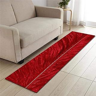 40/% Reduziert Teppichläufer Küchenläufer Klassisch Breite Rot Beige 67 x 140