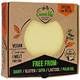 GreenVie's For Pizza Block is ideal for grating, slicing, melting, or eating cold, particularly pioneering on pizza, cracking in calzone, and lovely in lasagne! This substitute is made from coconut oil, free from palm oil and preservatives, and forti...