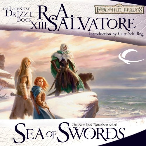 Sea of Swords: Legend of Drizzt: Paths of Darkness, Book 3 audiobook cover art