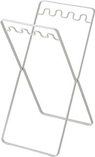 山崎実業 レジ袋スタンド ホワイト 約W24×D31×H48cm タワー 6340