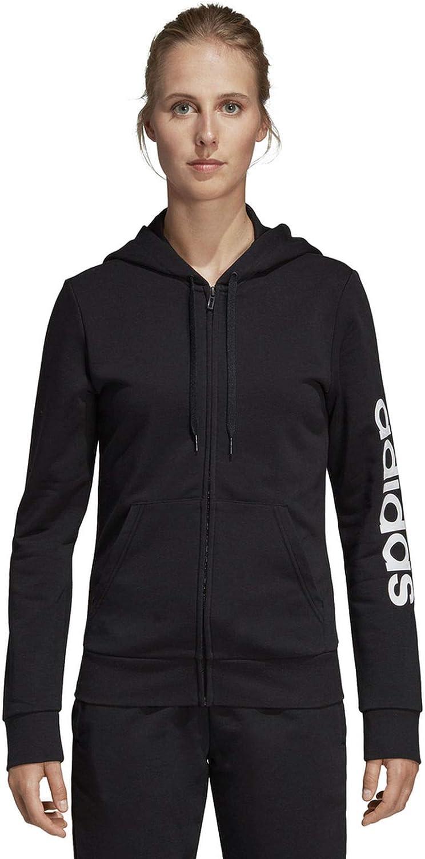 Adidas Damen W E Lin Fz Hd Sweatshirt B07KQSBT8W Queensland