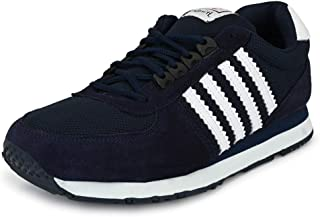 Hirolas Multisport Leather Sneaker Shoes- Blue/White
