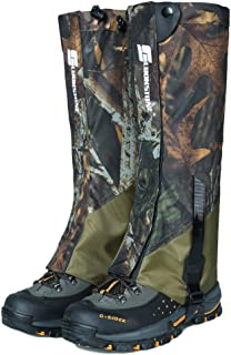 Aamoa Snake Gaiters Waterproof Snake Bite Protection Leg Guards Boot Covers, 1 Pair