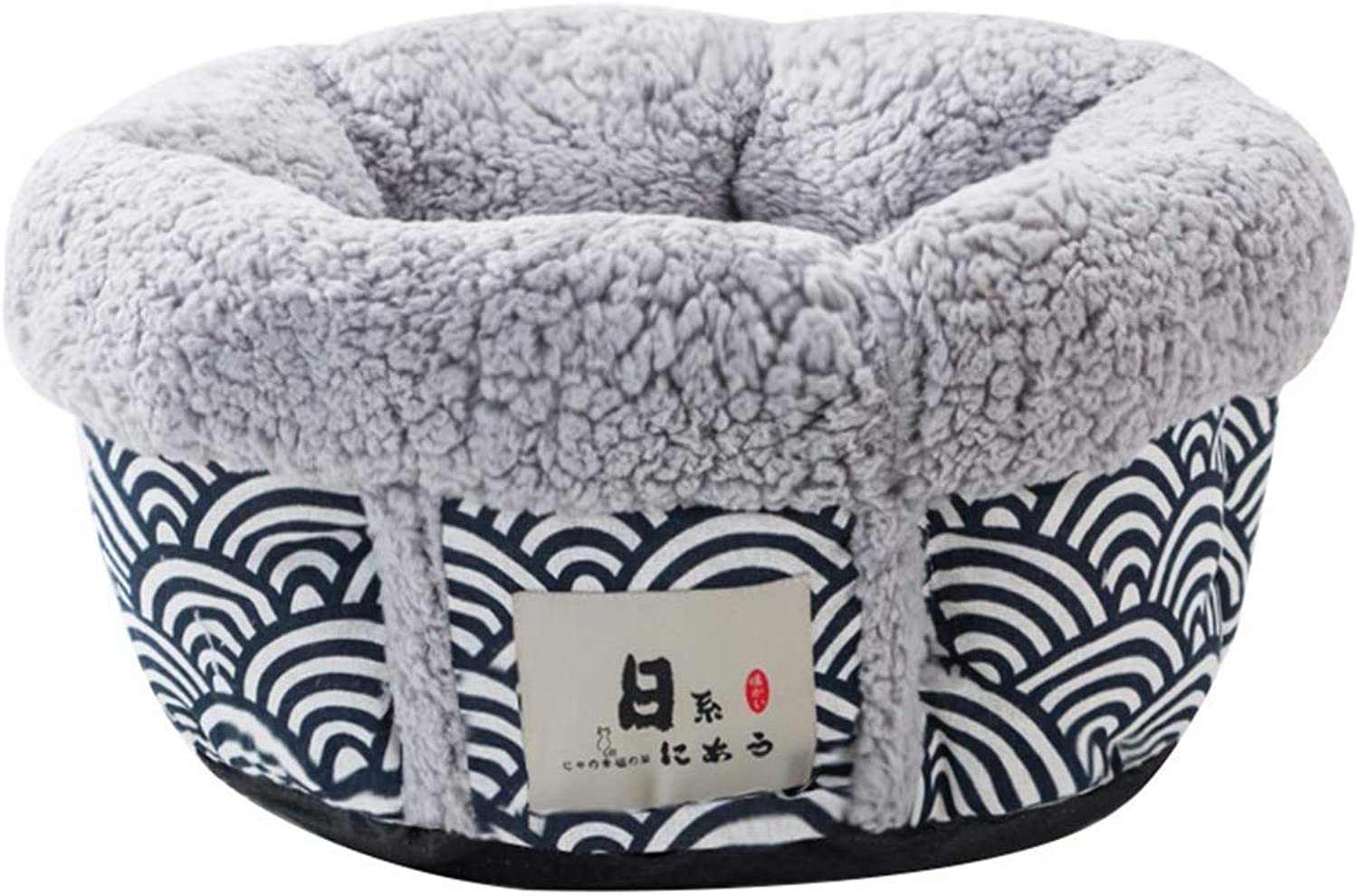 Closed Cat Bed Pet Dog Basket Bed Keep Warm In Winter Four Seasons Universal (color    7, Size   M)