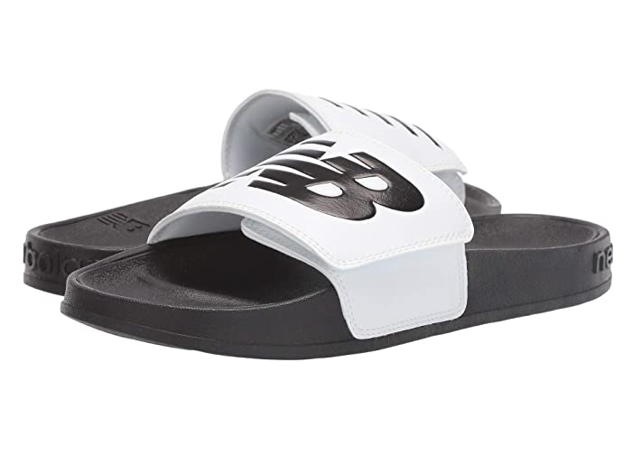New Balance  200 Adjustable (White/Black Synthetic) Womens Sandals