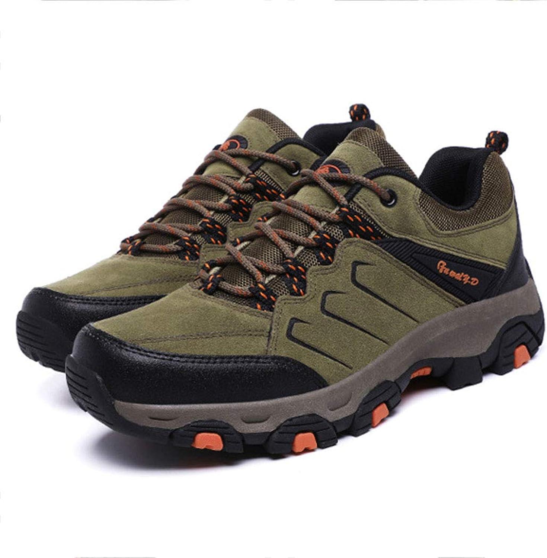 Men's Autumn Outdoor Hiking shoes Casual Travel shoes Non-Slip Adventure Walking shoes