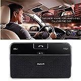 Kit DLAND Bluetooth 4.0 Visiera Vivavoce da Auto Vivavoce da Auto per iPhone, Samsung, HTC e Tutti Gli...