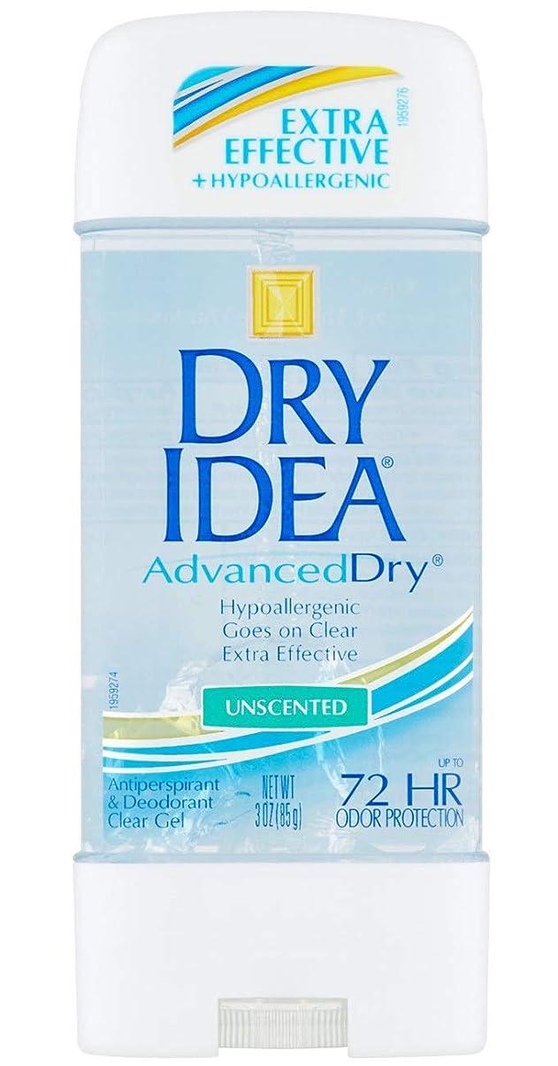 欠乏癒す相続人ドライアイデア Dry Idea アドバンスドドライ メンズ レディース デオドラント クリアジェル 制汗剤 ボディケア 無香料 85g