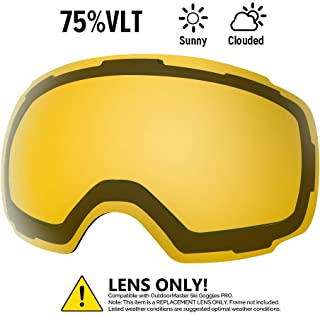 OutdoorMaster Ski Goggles PRO Lens - 20+