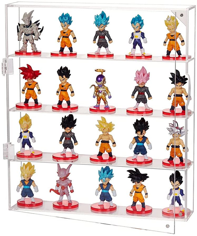 AITEE Acrylic Display Max 72% OFF Case for Mini Pop Wal Opening large release sale Funko Figures Clear