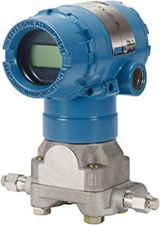 Rosemount 2051CD1A23A1AB4M5Q4 Coplanar Pressure Transmitter for Differential Measurements, Differential Pressure Transmitter with Pressure Range of -25 to 25 in H2O