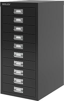 BISLEY Armoire de Maison Multi-tiroirs H2910nl de 59cm - Noir