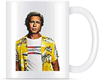 Brad Pitt Once Upon A Time in Hollywood Coffee Mug for Women and Men Tea Cups