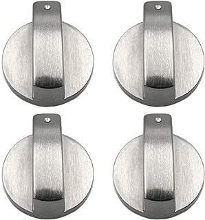 8 X Manopole di Controllo Bianco//quadranti Per Stoves Belling /& New World bianca fornello piano cottura forno