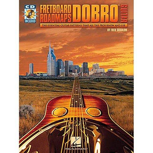 Fretboard Roadmaps: Dobro Guitar. Sheet Music, CD for Guitar Tab(with Chord Symbols)
