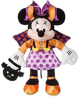 Minnie Mouse Purple and Orange Bat Halloween Plush 41cm