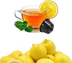 32 Capsules Thé au Citron Compatibles Nescafé Dolce Gusto - Café Kickkick