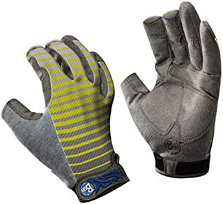 Buff Pro Series Fighting Work Gloves II - L/XL - Variegate Charcoal/Lime