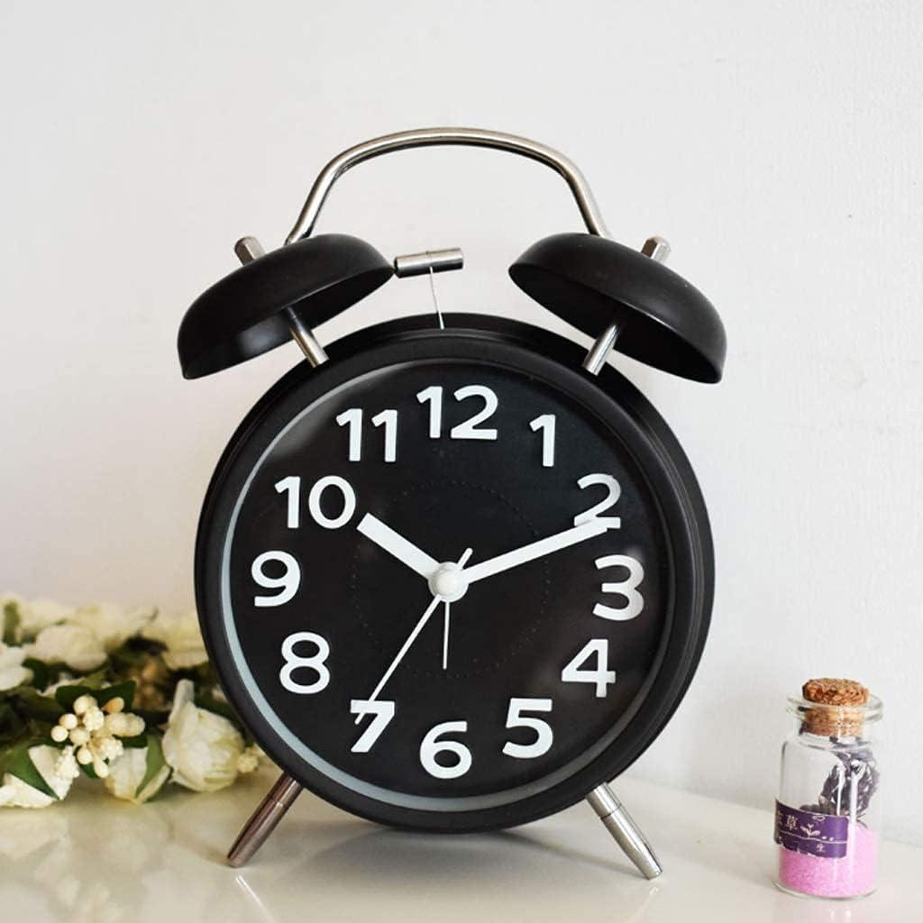 WECDS Under blast sales Analog Clock with Night Light No Over item handling Silent B Ticking Sweeping