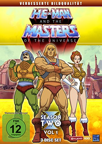 He-Man and the Masters of the Universe - Season 2 Volume 1 (3 Disc Set)