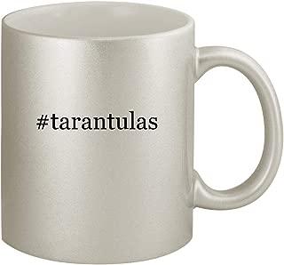 #tarantulas - Ceramic Hashtag 11oz Silver Coffee Mug, Silver