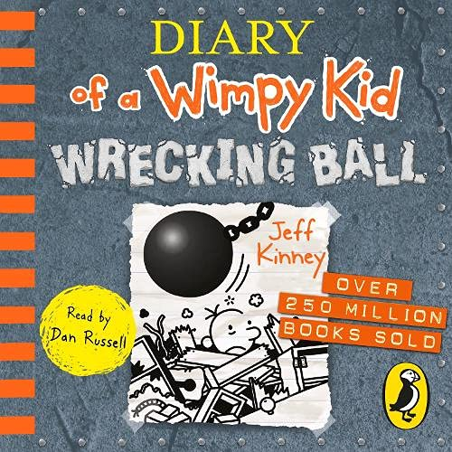 Wrecking Ball Audiobook By Jeff Kinney cover art
