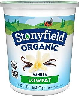 Stonyfield Organic, Low Fat French Vanilla Yogurt, 32 oz