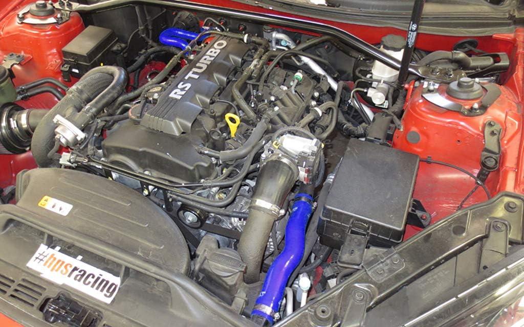 HPS 57-1324-BLK Black Silicone Radiator Coolant//Heater Hose Kit