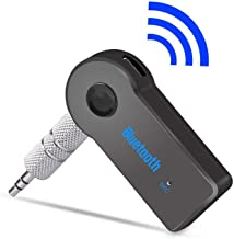 Universal 3.5mm Streaming Car Audio Music Receiver Adapter Handsfree with Mic for Phone Mp3