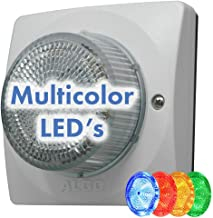 $495 » Algo 8138 Multicolor RGB+A LED IP Strobe Light for VoIP Notification & SIP Alerting