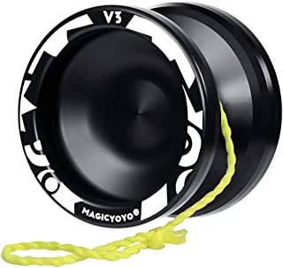 MAGICYOYO Professional Responsive Yoyo V3, Aluminum Yo Yo for Kids Beginner, Replacement Unresponsive Ball Bearing for Adv...