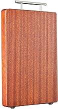 Ebony hout snijplank keuken hakbord 2.5 cm dikke natuur hele houten keuken accessoires (Color : White)