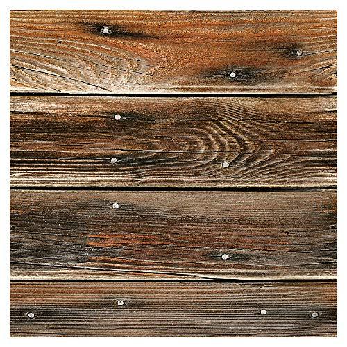 *murando – Tapete selbstklebend 10m Wandtattoo dekorative Möbelfolie Dekorfolie Fotofolie Panel Wandaufkleber Wandposter Wandsticker – Holz 1602-12*